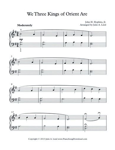 Download Free Carol Of The Bells Piano Solo Pdf Free