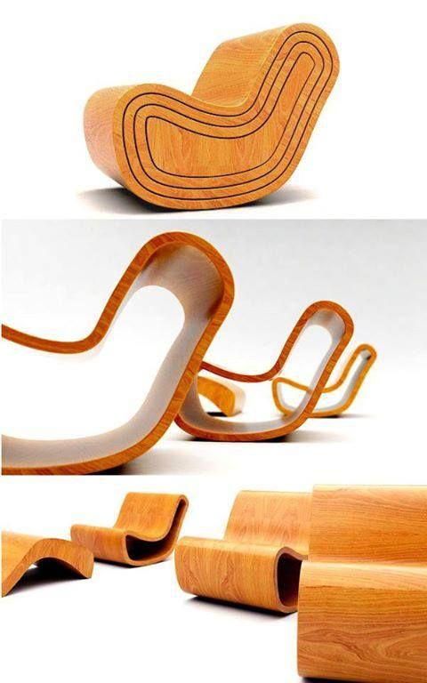 Sillas de diseño - Matryoshka chair