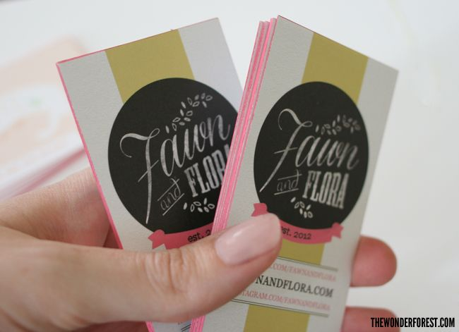 82 best calling cards images on pinterest business cards carte de make your own colored edge business cards colourmoves