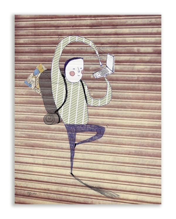 Illustration / published by Elina Johanna Ahonen, via Behance