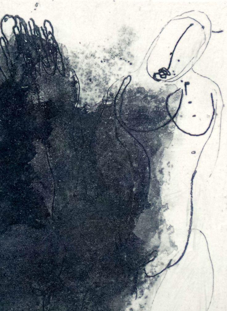 jean fautrier | Quatre Nos Violets- by Jean Fautrier