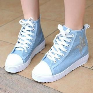 Star Canvas Sneakers from YesStyle 3 Pangmama YesStylecom