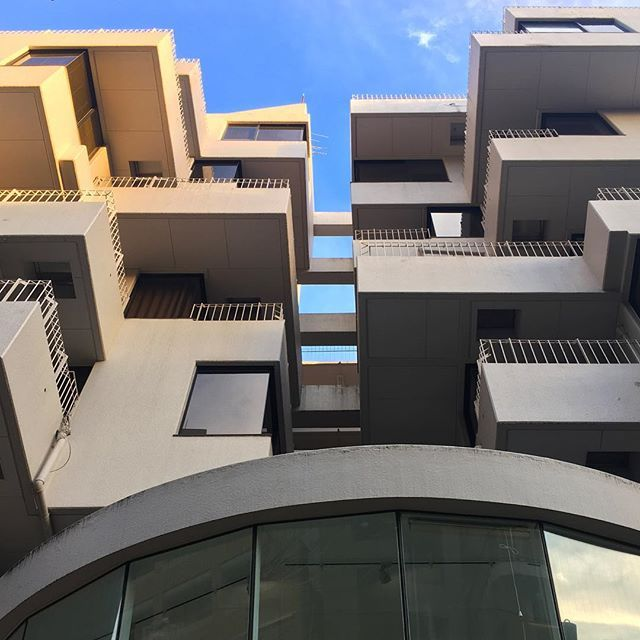 Cascaded Living  #architecture #cascade  #building #tokyo #balcony #inspiration #japan