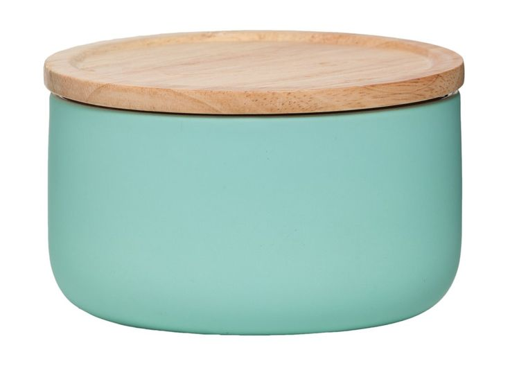 Wide Canister - Matte Mint
