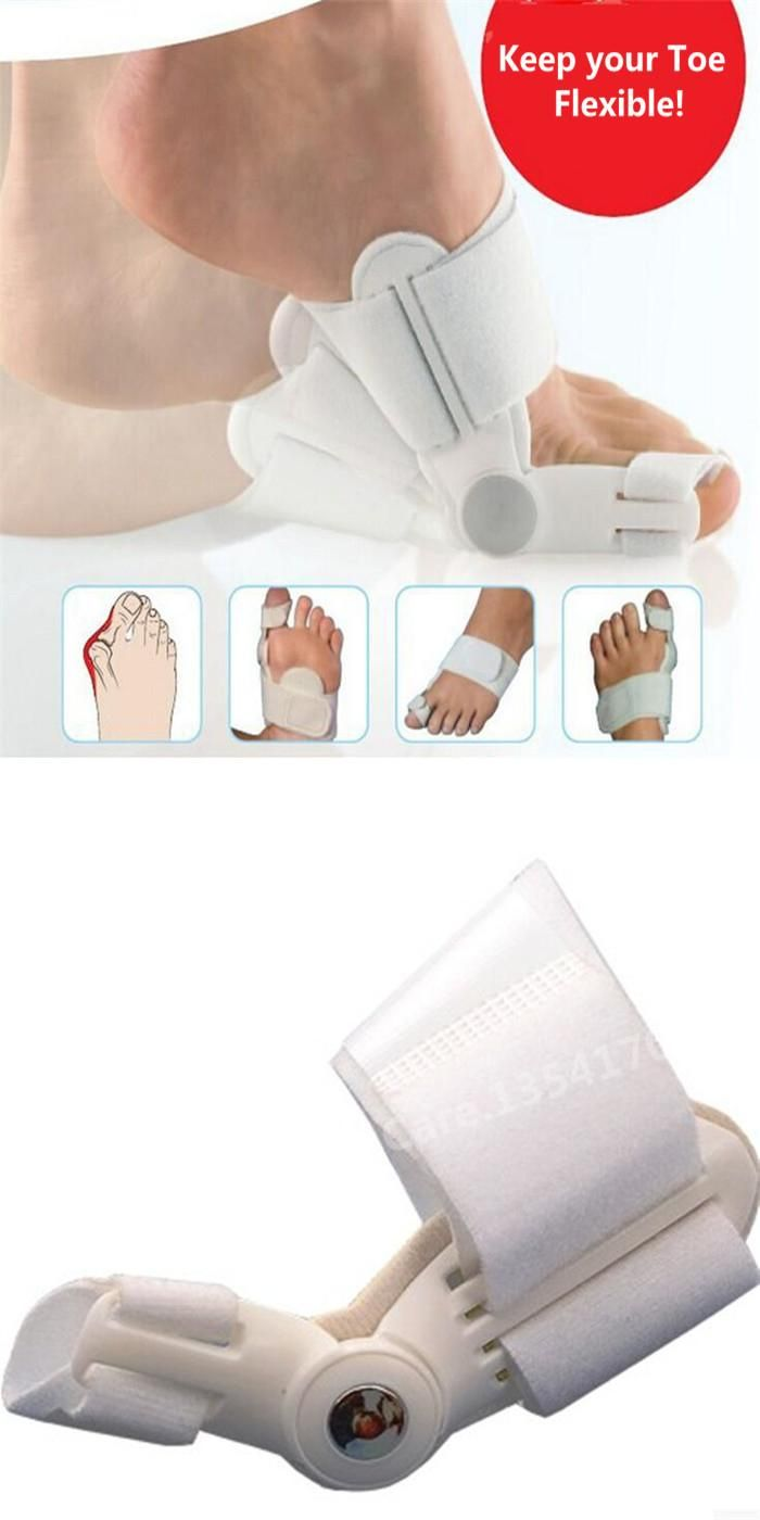 [Visit to Buy] Hallux Valgus Orthotics Big Toe Corrector Foot Pain Relief Feet Guard Care Bone Corretivo Bunion Night and Day Used Splint T040 #Advertisement