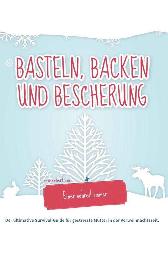 Kostenloses Buch für die Vor-Weihnachtszeit mit einfachen Keks-Rezepten, Basteltipps und Geschenkideen für Kinder jeden Alters.   (Enthält Werbelinks zu Produkten).