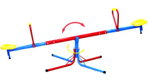 Karussell Wippe, Kinderwippe, Schaukel, Seesaw, Wippe aus Metall, So-SWI01