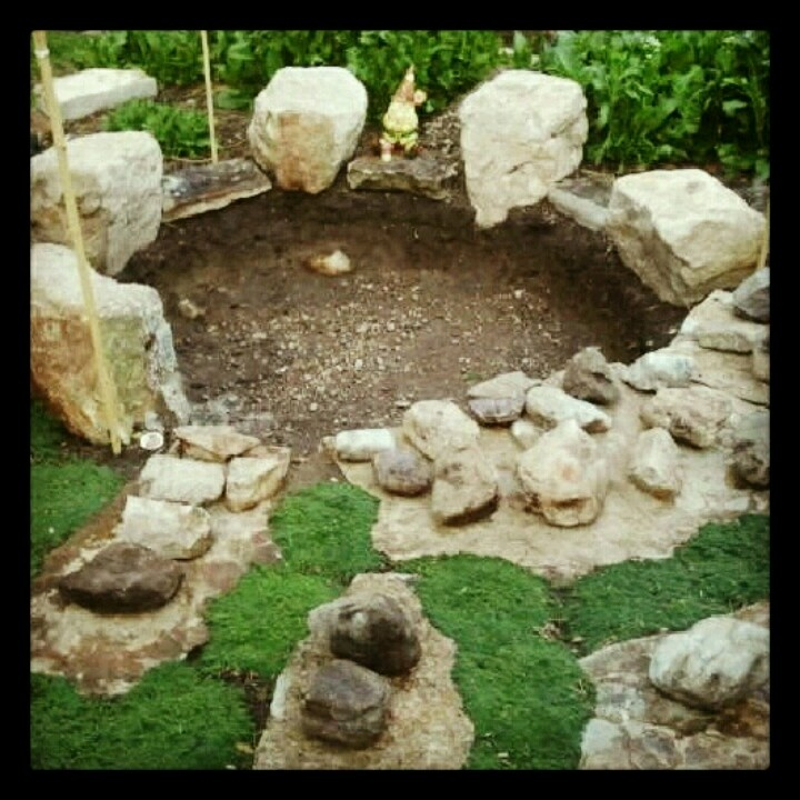 16 best images about fish tanks on pinterest bird baths for Concrete fish pond