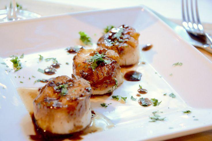 Fried scallops truffle vinegar - Truffle Traders