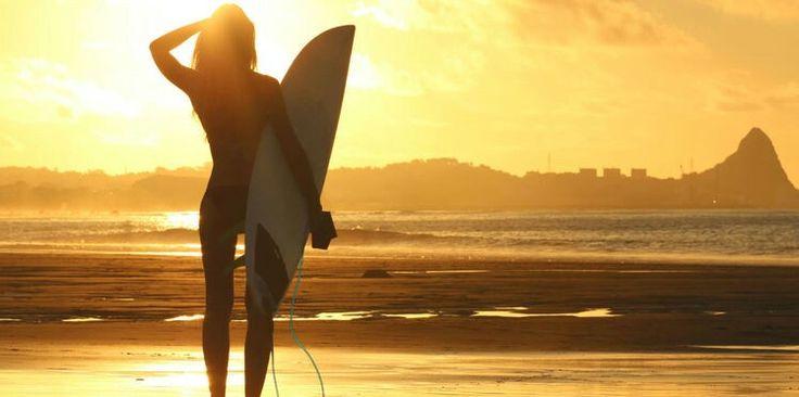 #sungoesdown #surf #love