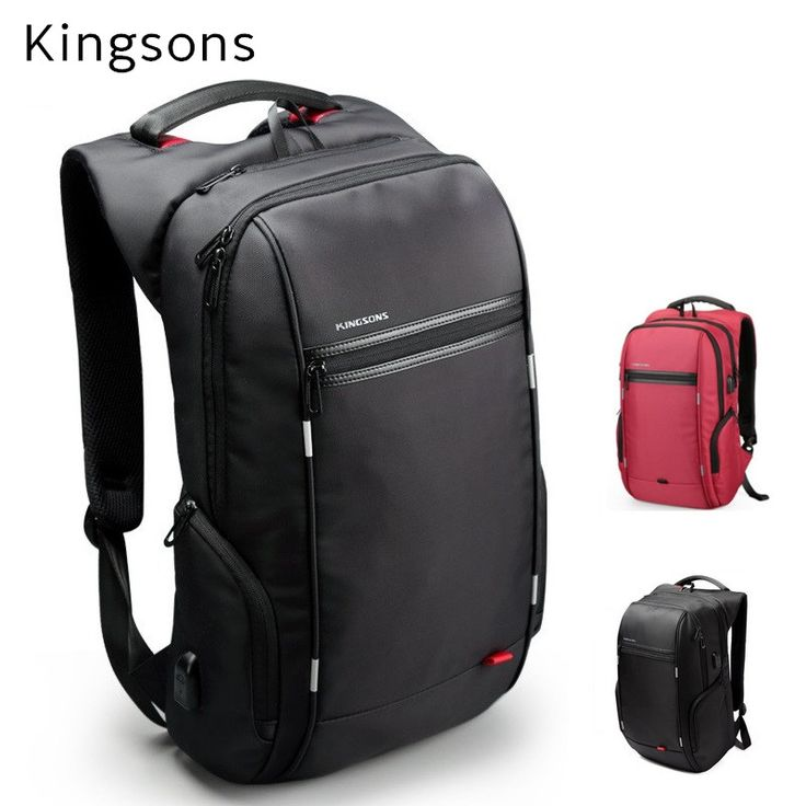 """2017 Kingsons Brand Backpack For Laptop 15"""",15.6"""",Notebook 13"""",14"""",15.4"""" Compute Bag,Business,Office Worker,Free Drop Shipping"""