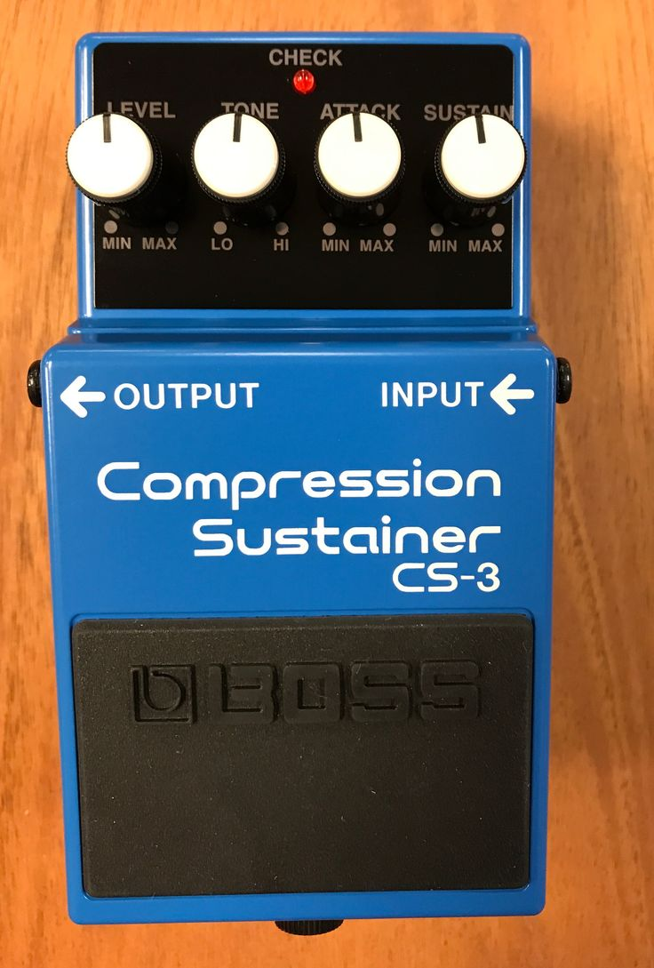 Boss CS-3 Compressor Sustainer Guitar Effects Pedal