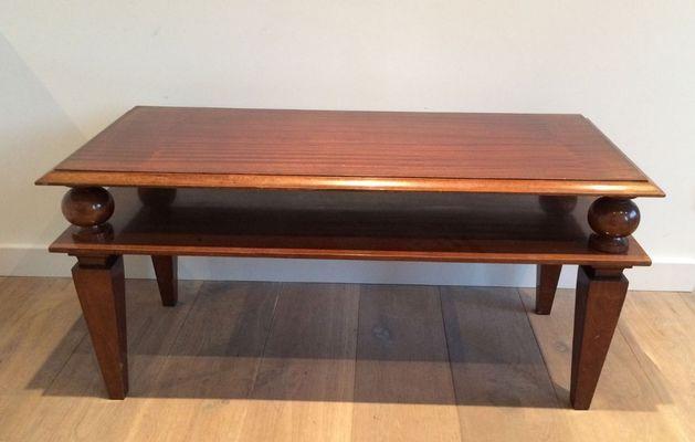 Art Deco Mahogany Coffee Table 1930s Mahogany Coffee Table Art