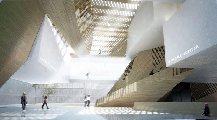 Musee National des Beaux Arts du Quebec proposal | Saucier + Perrotte Architects