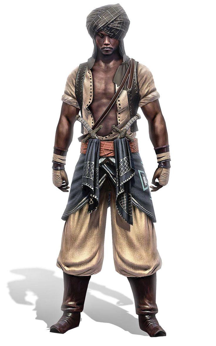 Odai Dunqas - The Guardian   Assassin's Creed: Revelations