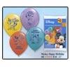 "Mickey Happy Birthday 12"" Balloons (6/pkg)"
