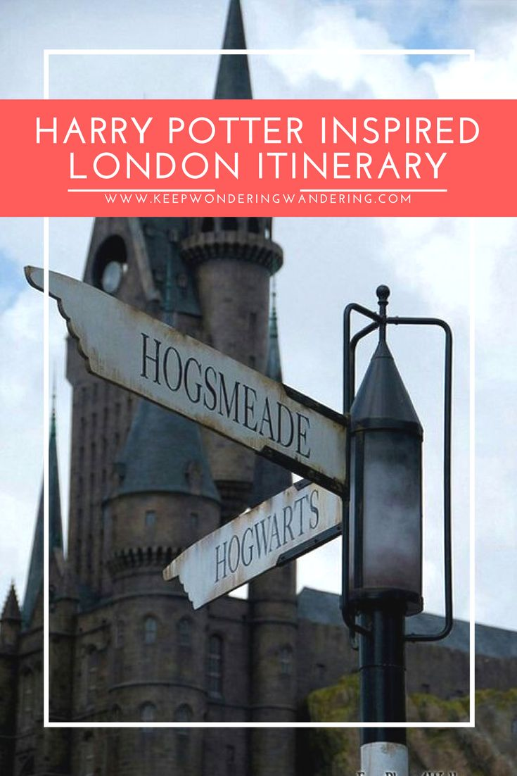 With less than one year to go until our trip around Europe, I'm planning ALL THE HARRY POTTER things to do while we're in London so here's my Harry Potter inspired London Itinerary!