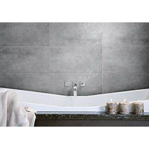 Elegant As A Bathroom Or Kitchen Floor Tile The Willow Dark Grey Floor Tile
