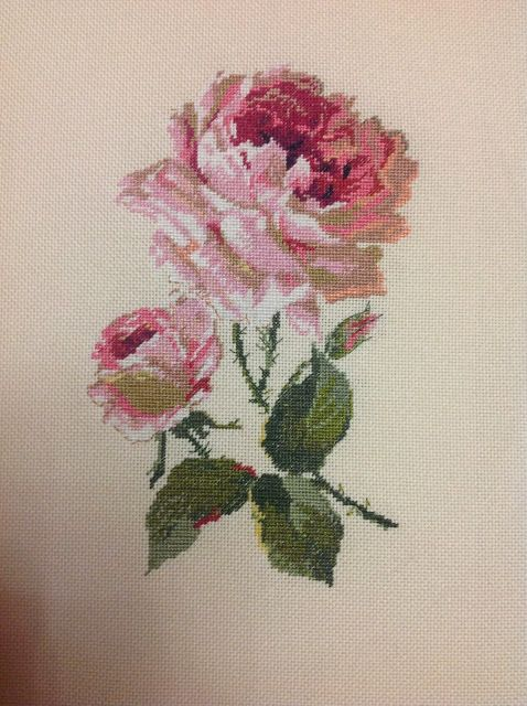 Остров рукодельного удовольствия.: ,,Чайная роза,,в миниатюре.