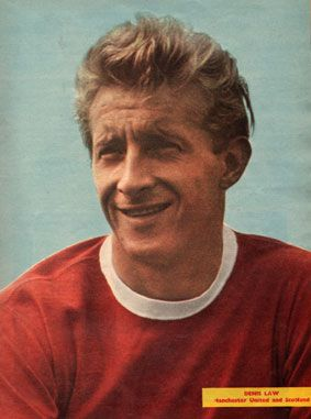 The great Denis Law, Manchester United, 1963