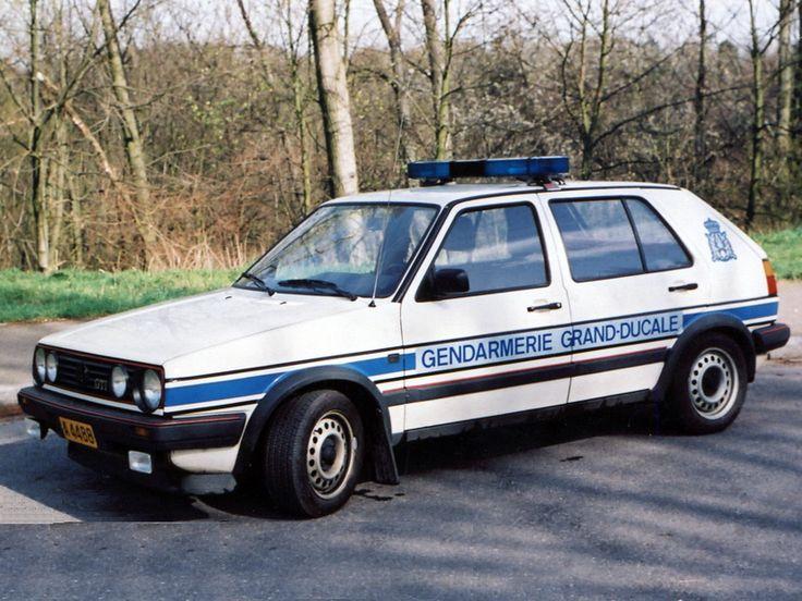 Luxembourg - 1984 Volkswagen Golf mk2