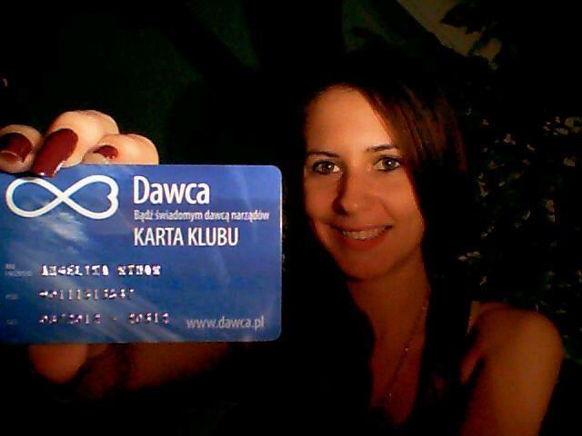 Zostałam dawcą i od razu jestem bardziej szczęśliwa! ;)    Fot. Angelika Rymar