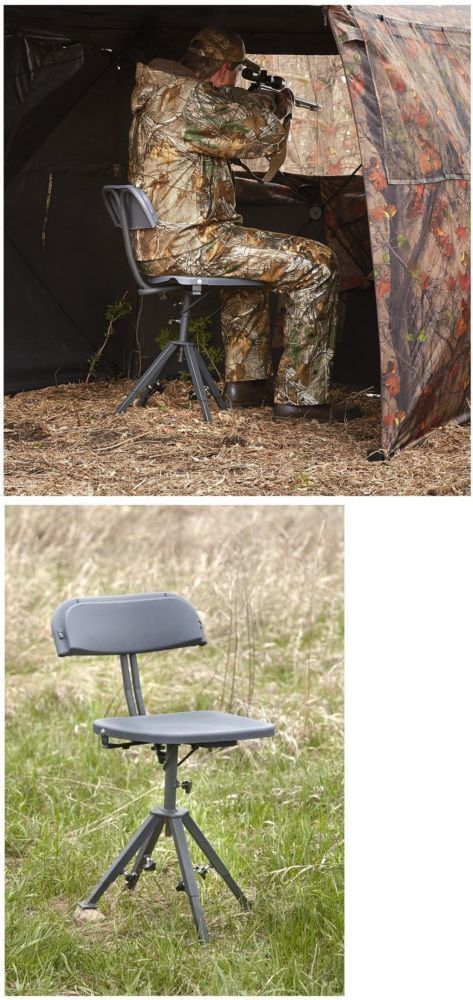 Hunting Seats And Chairs The Ball Chair By Eero Aarnio 52507 Blind 360 Swivel Hunters Seat Adjustable Legs All