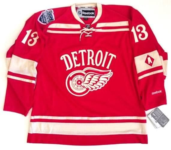 classic fit e59b6 0dc71 PAVEL DATSYUK Detroit Red Wings Reebok 2014