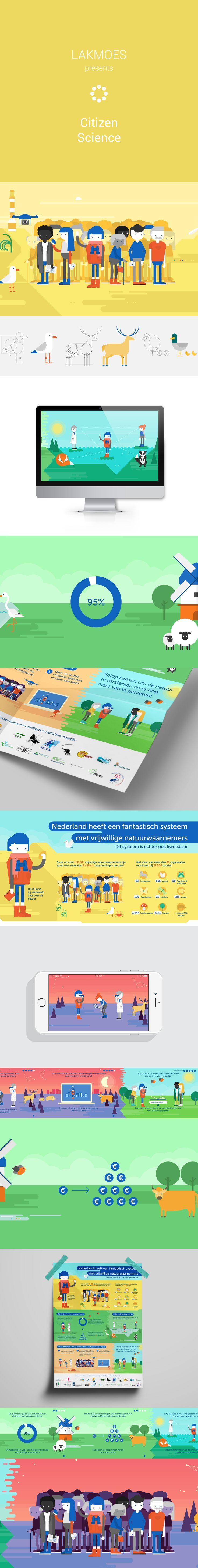Natuuronderzoek is onmogelijk (en onbetaalbaar) zonder de inzet van 100.000 Nederlandse vrijwillige natuurwaarnemers. Onderzoek van Wageningen UR toonde aan dat het belangrijk is om deze citizen scientists te koesteren en de data te gebruiken om de natuur te versterken. #infographic #interactive #nature