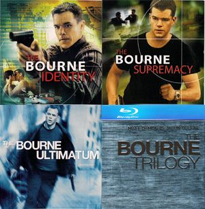 The Bourne Trilogy (2002, 2004, 2007)