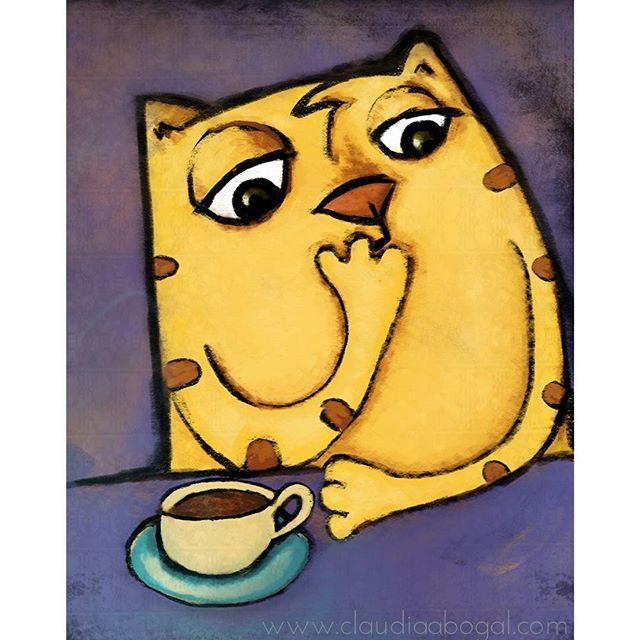 """""""Buenos días soledad. Siéntate, te serviré un café. Hablemos. Adoro tu silencio y lo sabes"""" ... Ilustración en app #sketchbook. . . . #ilustración #illustration #cats #lovercats #coffee #painting #drawing #digitalillustration #digitalart #art #artistsofinstagram #illustrationart #graphic #colors #sketch #ilustração #bogotart #gatos #illustrationoftheday #love #instagram #artoftheday #instaillustration #artofinstagram #catsofinstagram #modernart #artis #cafe #illustrationartists"""