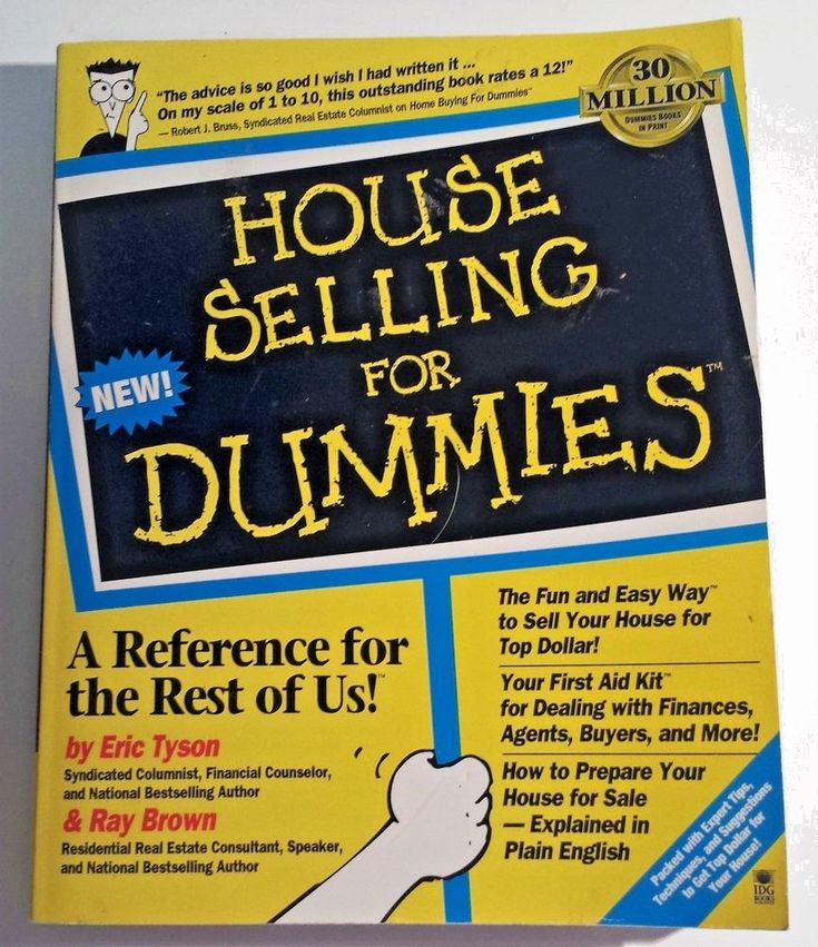 House Selling for Dummies~Real Estate FSBO Contract Closing Costs Tax Mortgage