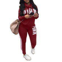 New 2019 Two Piece Set Sportswear Plus Size Sweatshirt Set Women Suit Tracksuit ... 9