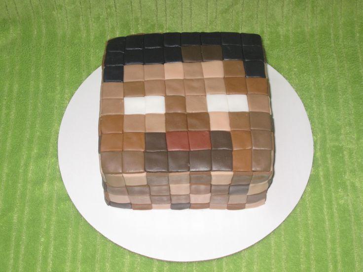 herobrine cake