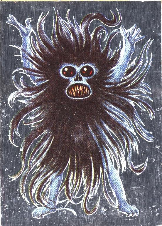 Hairy monster dream
