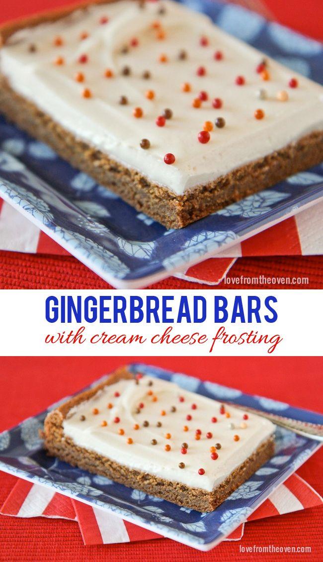 Gingerbread Bars
