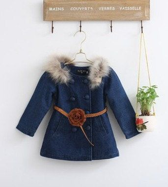 BIG SALE toddler girl clothes girl dress gown girl coat autumn spring children…