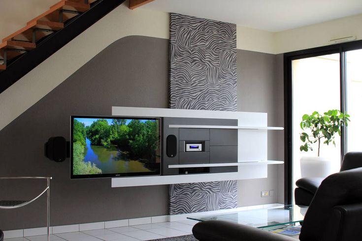 michel, architecte à cholet, a récemment remplacé un ensemble ... - Meuble Multimedia Design