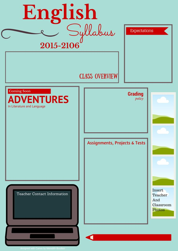 best 25  syllabus template ideas on pinterest