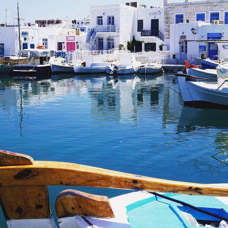 Paros island (Πάρος)❤️. Amazing traditional style at Naoussa village !