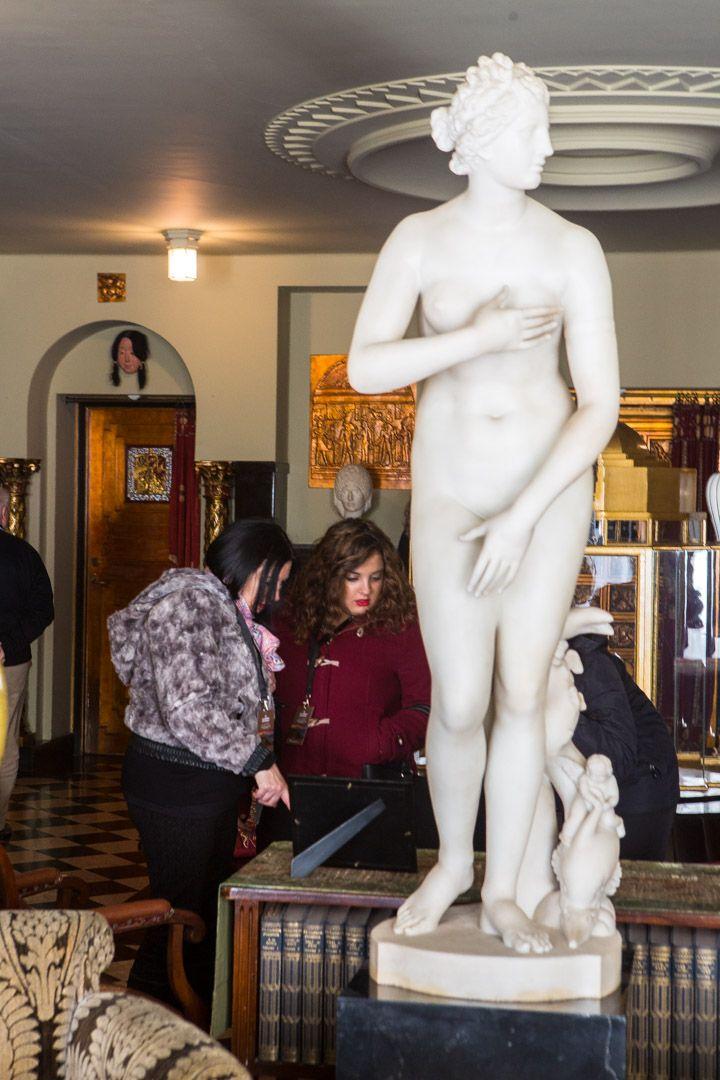 Para realizar la Venus de la #Biblioteca, se trajo el mármol de las canteras Carrara (#Italia) #zoomMW #MuseumWeek