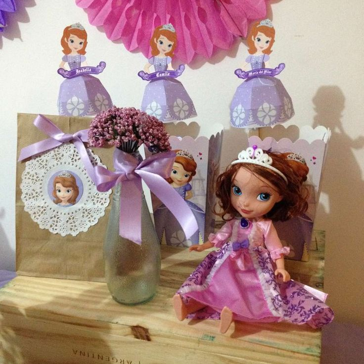 Sofia the First Birthday Party Ideas   Photo 3 of 23