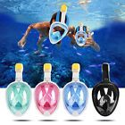 ﹩22.99. Swimming Snorkel Mask Full Face Anti-Fog Full Dry Diving Mask W/ Mount For GoPro    Gender - Adult Unisex, Occasion - Diving, Size - S/M, Color - Blue