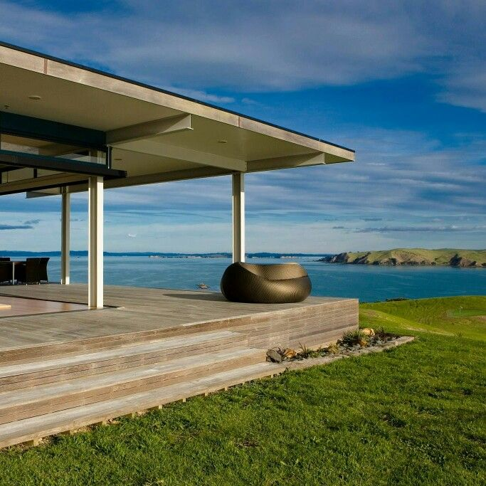 This ultimate luxury 5-bedroom NZ holiday home on a private 20-acre property on Rakino Island in the Hauraki Gulf a short boat or helicopter ride from Auckland is this year's winner of our Best Luxury Award. Ideal for a special event or that A-list style getaway for friends or family. View this property www.bookabach.co.nz/27117