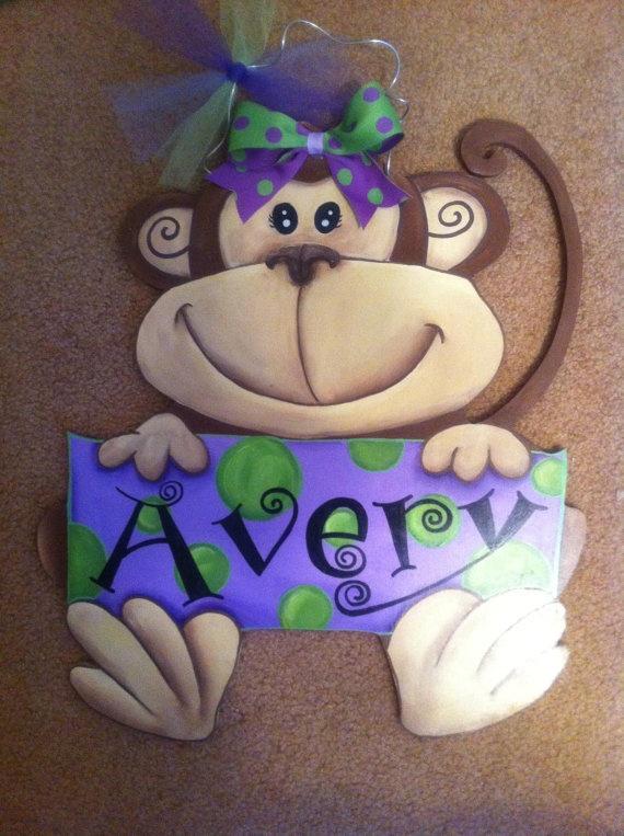 monkey sign idea for teacher