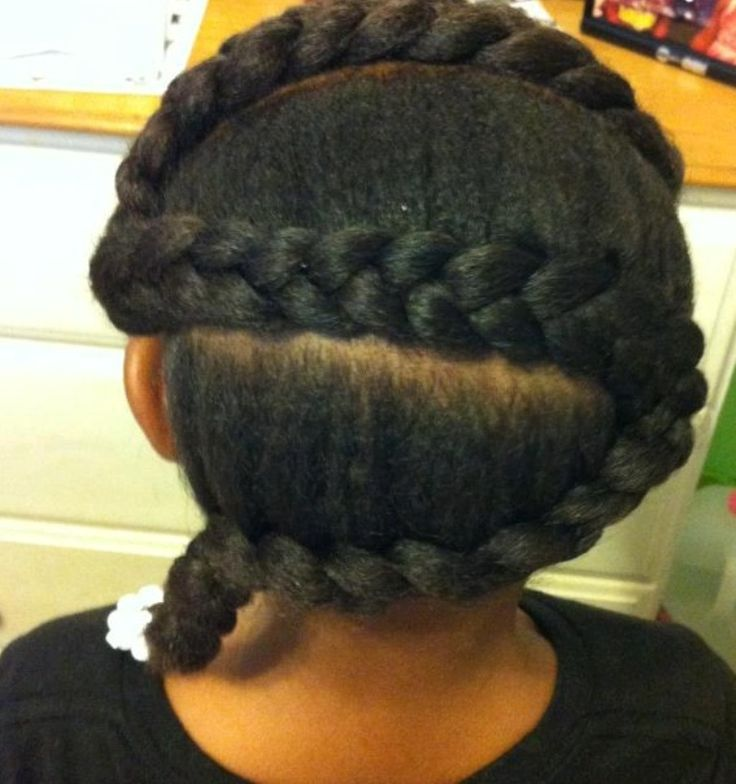 Braid Hairstyles For Kids best 25 kid braid styles ideas on pinterest black kids hairstyles kids braided hairstyles and natural kids hairstyles Little Girl Braid Hairstyles Black