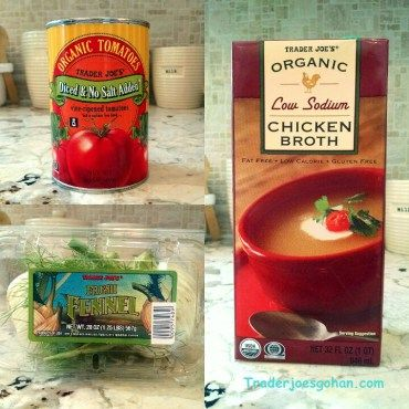Trader Joe's | Tomato Fennel Soup |  トマトとフェンネルの簡単スープ |  #tomato #fennel #traderjoes #recipe #organic #chickenbroth #トレーダージョーズ