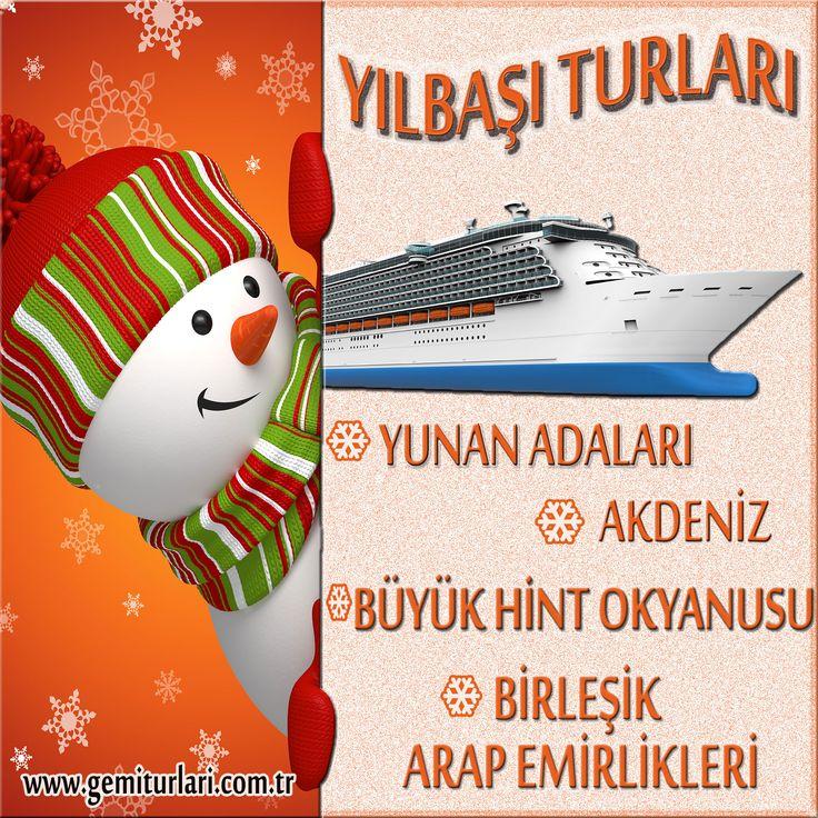 Yeni Yılı Gemide Karşılamaya Ne Dersiniz ? Erken Rezervasyon Fırsatlarını Kaçırmayın... 2015'e Deniz'de Girin.  http://www.gemiturlari.com.tr/yilbasi-turlari/