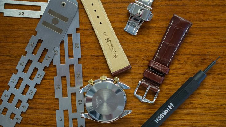 Hirsch Straps by WatchObsession is the Largest Hirsch Watch Straps Stockist in the World. Our service and knowledge is not matched by anyone else. Omega  gold old watch new strap Speedmaster speedy Connoisseur alligator genuine skins luxury handmade Austria crocodile