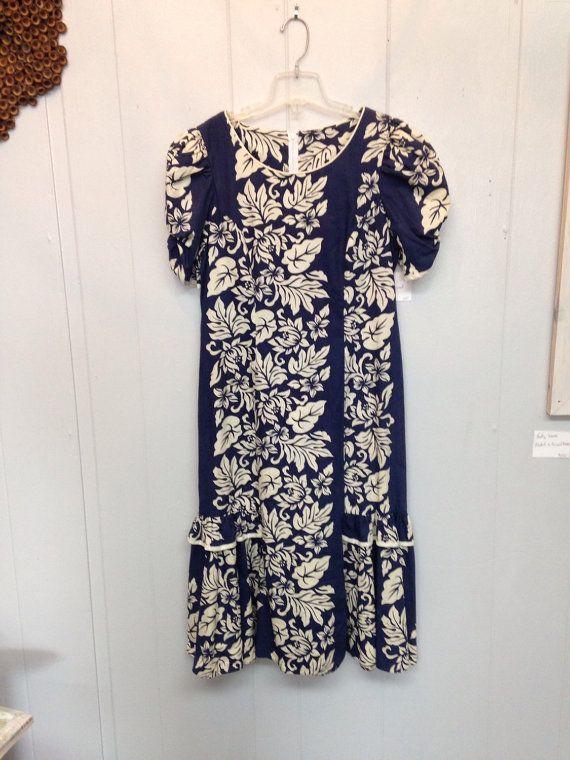 Shannon Marie Vintage Hawaiin Dress by graceaberdean01 on Etsy